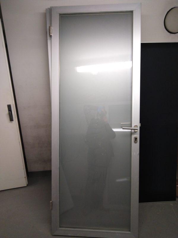 náhled dveře hliníkové + futra