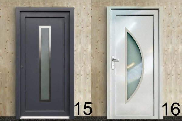 náhled Plastové dveře vchodové