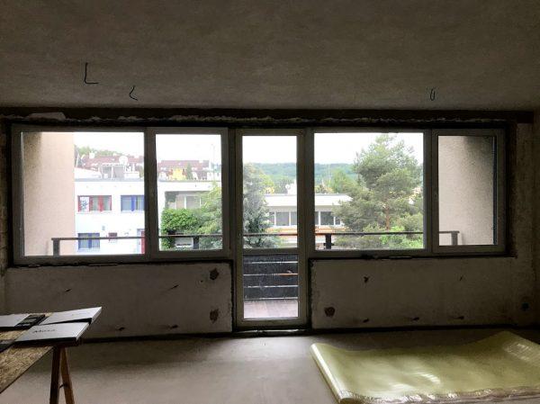 náhled sestava oken a balkonových dveří