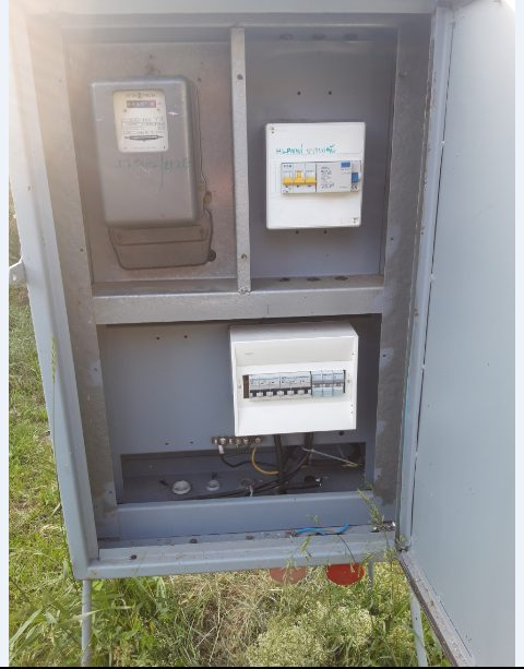 náhled Prodám stavební rozvaděč (antoníček) s elektroměrem