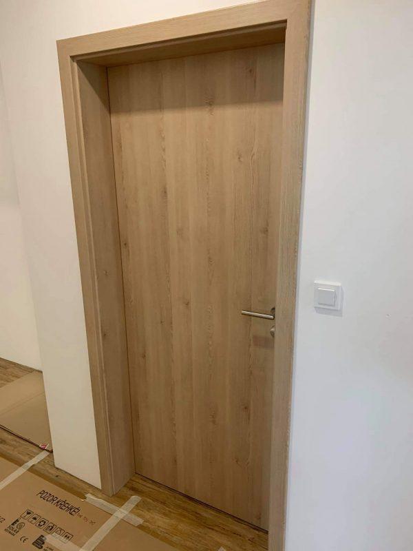 náhled Obložkové dveře VEKRA, přírovní dub, pravé, šířka 709 mm