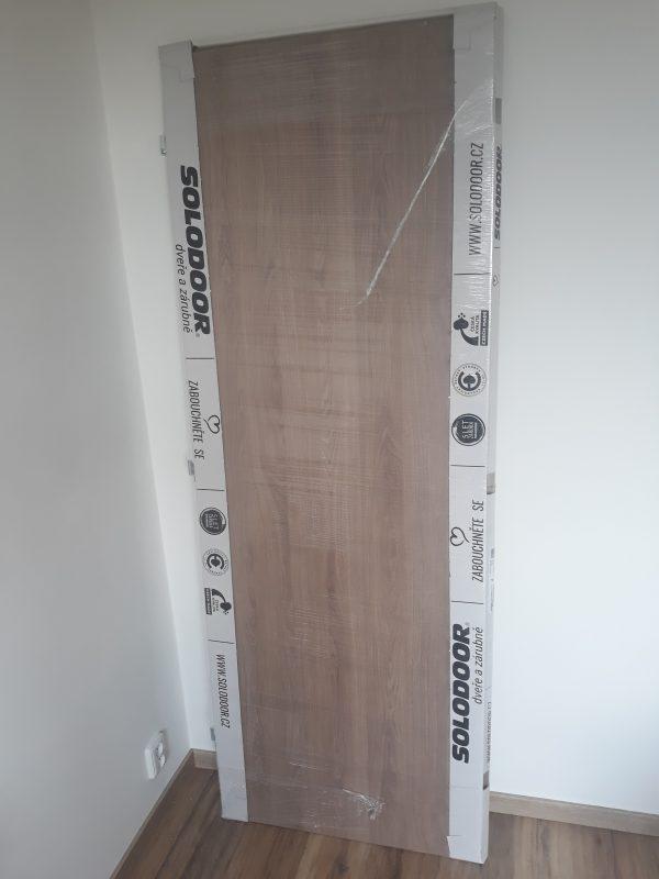 náhled NOVÉ interiérové dveře a zárubeň Solodoor 70P dub