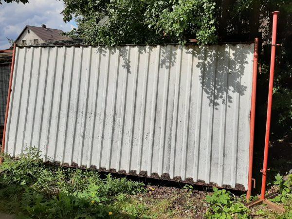 náhled zábrany pro ohraničení staveniště (plotové dílce)