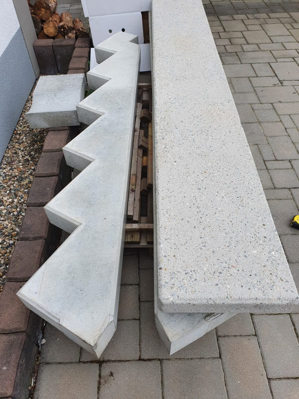 náhled Betonové stupně, betonové schodnice