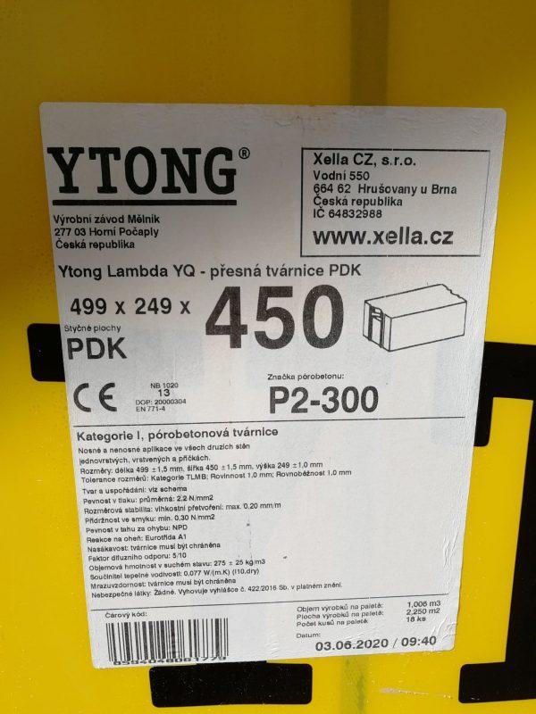 náhled Ytong Lambda YQ - PDK 450