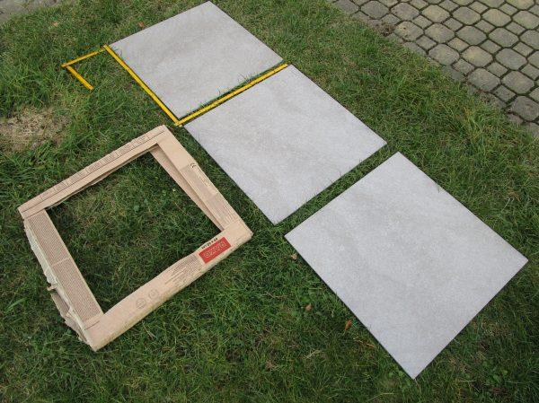 náhled slinutá dlažba Rako 60x60, interier, exterier