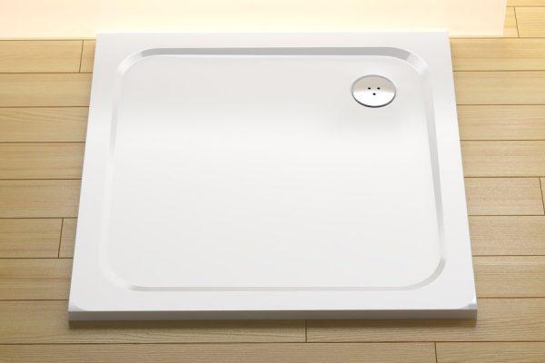 náhled Zcela nová sprc. vanička Ravak Pro Chrome 80x80, litý mramor