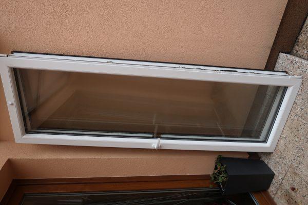 náhled Dvoukřídlové balkonové dveře plastové