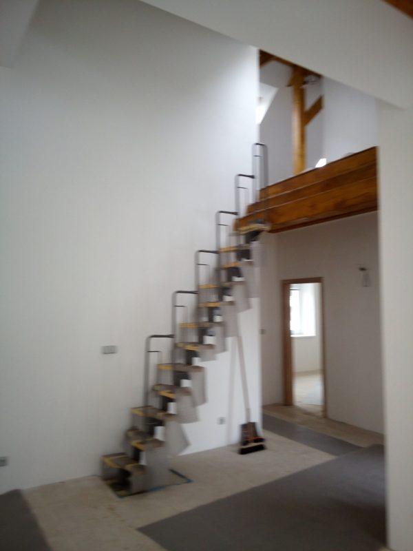 náhled Modulové mlynářské schody nepoužité