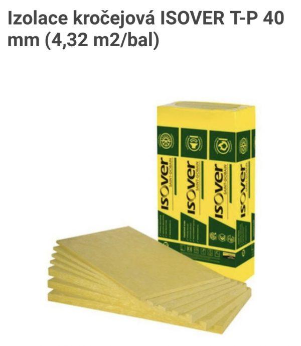 náhled Prodam: Izolace kročejová ISOVER T-P 40 mm (4,32 m2/bal) - 10 balíků