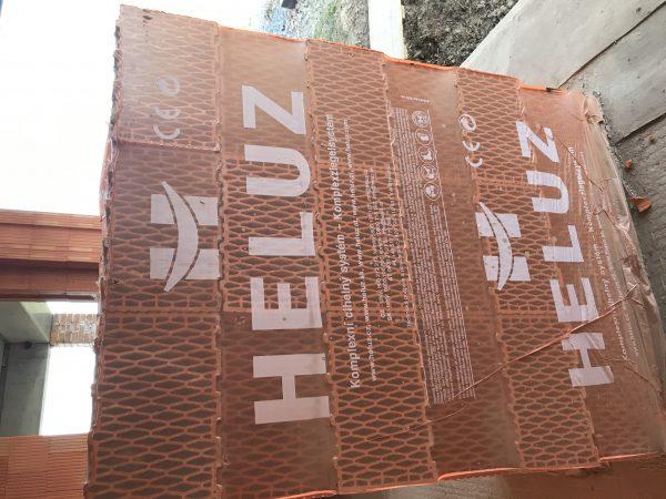 náhled Cihly Heluz plus broušené
