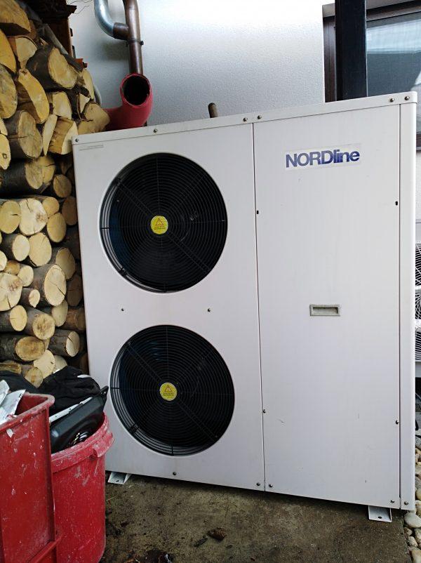 náhled Tepelné čerpadlo NORDline WWBC-13,5 H-B-S vzduch-voda