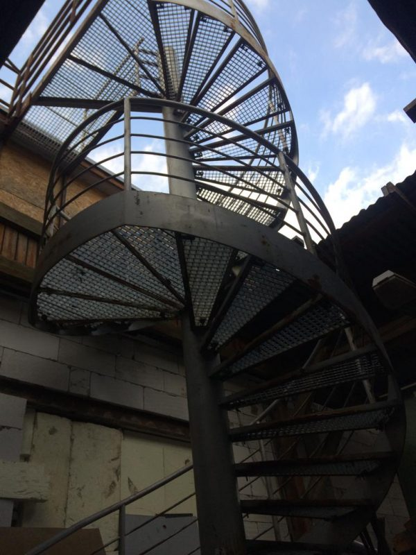 náhled Točité schody železné vcelku