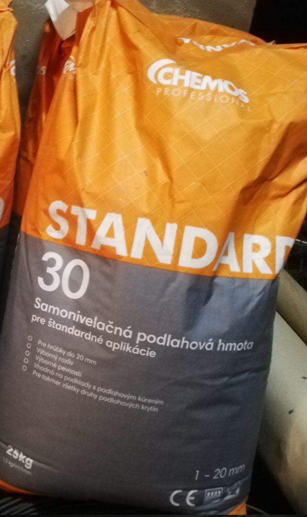 náhled Samonivelační hmota Chemos standard 30, Chemos vyrovnávací hmota OT 101