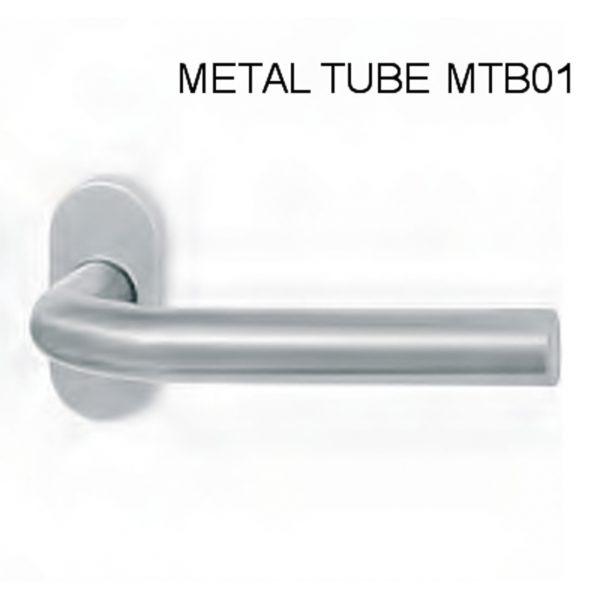 náhled Balkonové kliky METAL TUBE MTB01 a MTB02