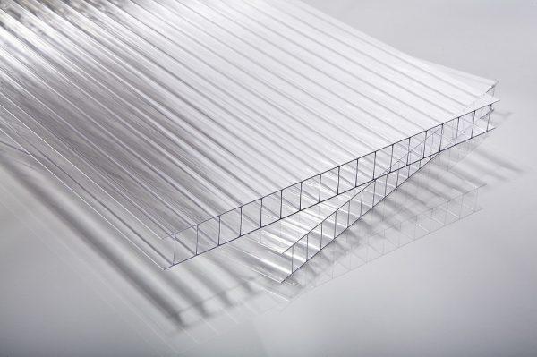 náhled dutinkové polykarbonátové desky 8mm a 10mm - čiré