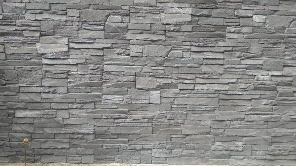 náhled Obklad - imitace kamene, šedá