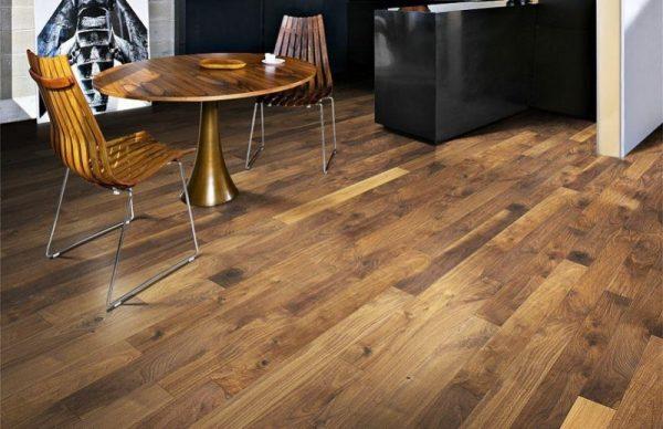 náhled Dřevěná podlaha KAHRS Spirit Ořech, nová, Švédsko