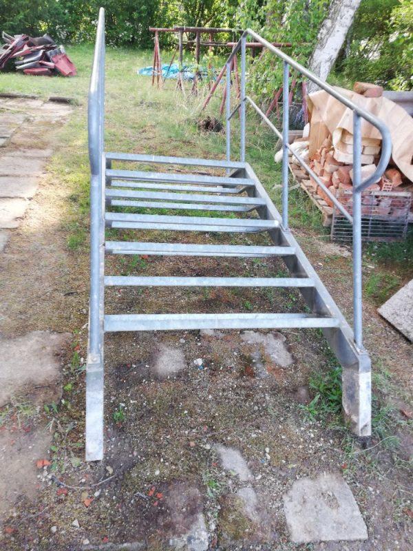 náhled Venkovní ocelové schodiště