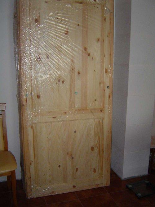 náhled Dveře interierové z borovice