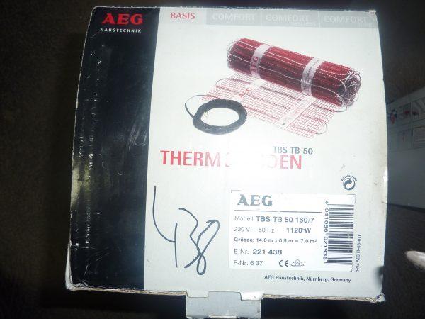 náhled Podlahová topná rohož AEG