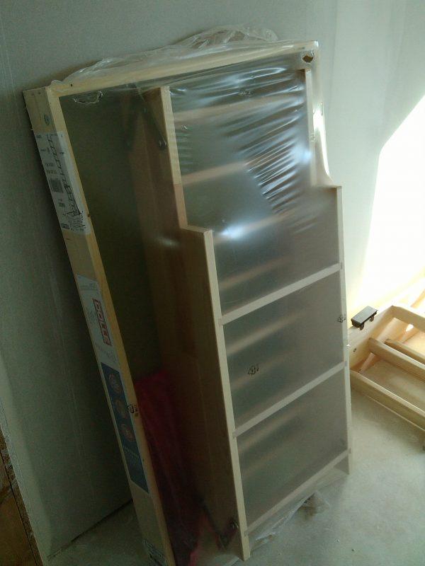 náhled 2x nové dřevěné půdní schody 120x70cm