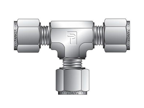 náhled Parker šroubení A-LOK (T-kus) pro spojení impulsního potrubí