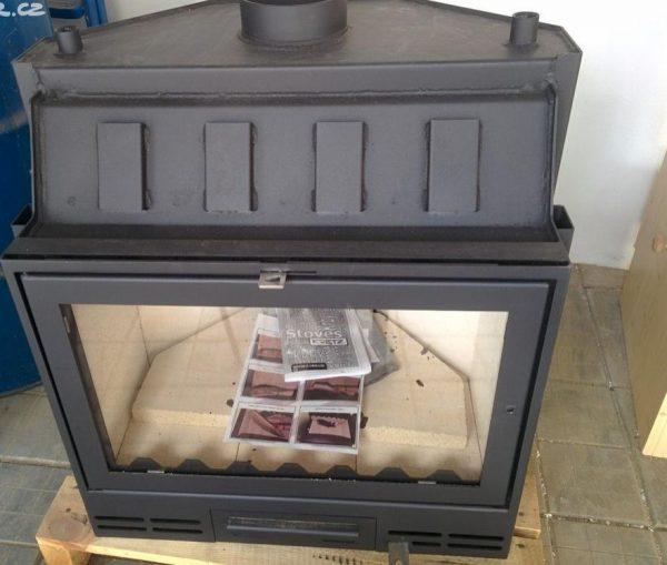 náhled Krbová vložka KRETZ A 103V TV s teplovodním výměníkem