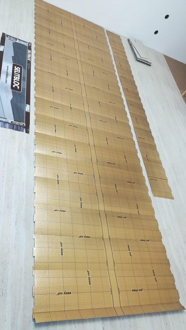 náhled Podložka pod vinylovou podlahu Selitbloc 1,5mm za polovinu
