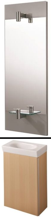 náhled Skříňka, umyvadlo, zrcadlo a baterie Ideal Standard Tonic
