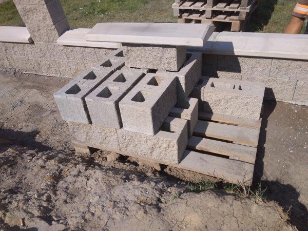 náhled FaceBlock Pressbeton štípaná betonová tvárnice