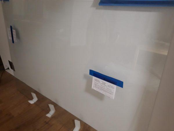 náhled Kalené sklo do sprchového koutu 1350x2000mm