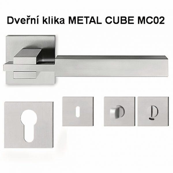 náhled Kiky dveřní METAL CUBE MC02 a MC03
