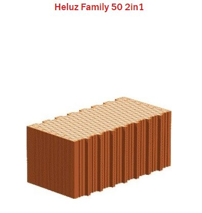 náhled HELUZ FAMILY 50 2 in 1