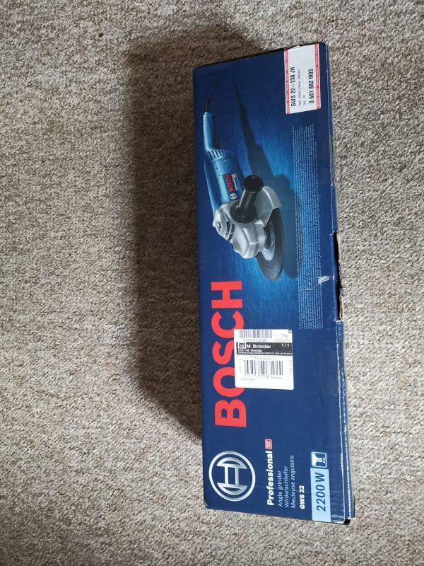 náhled Bosch Professional nová úhlová bruska  v záruce