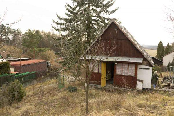 náhled Dřevěná chatka za odvoz