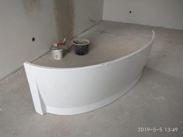náhled  panel k vaně Ravac Avocado 160 R snowwhite