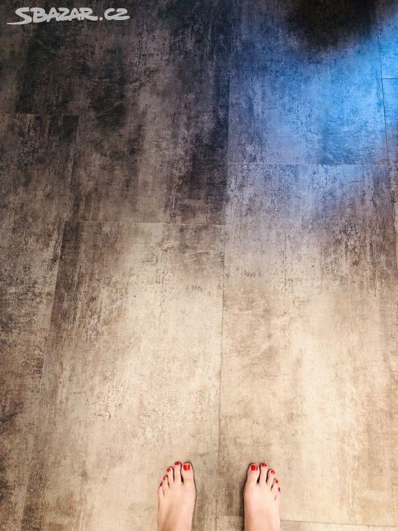 náhled vinylová podlaha velký formát PROJECTLINE  dekor METAL 9m2