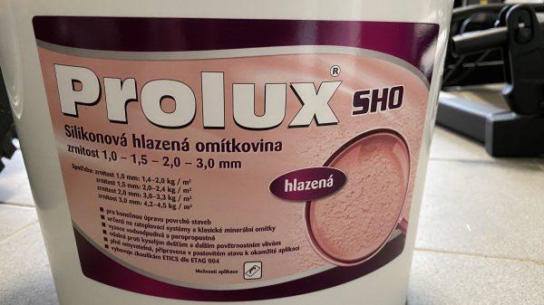 náhled Fasádní hlazená omýtkovina Prolux SHO 1,5