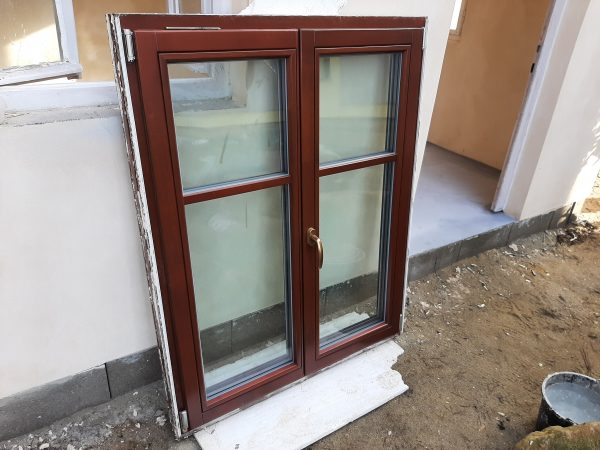náhled Euro okno DARE dvoukřídlé vyklápěcí, izolační trojsklo, 110x 145
