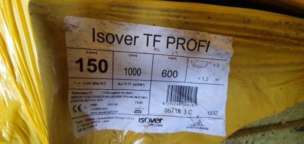 náhled Fasádní izolace - ISOVER TF PROFI