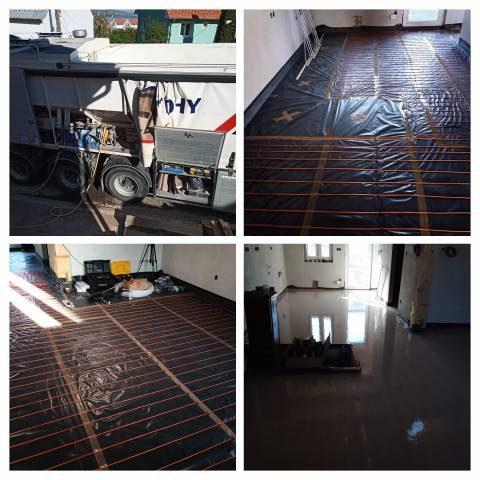 náhled Anhydritové a cementové podlahy, topení, izolace