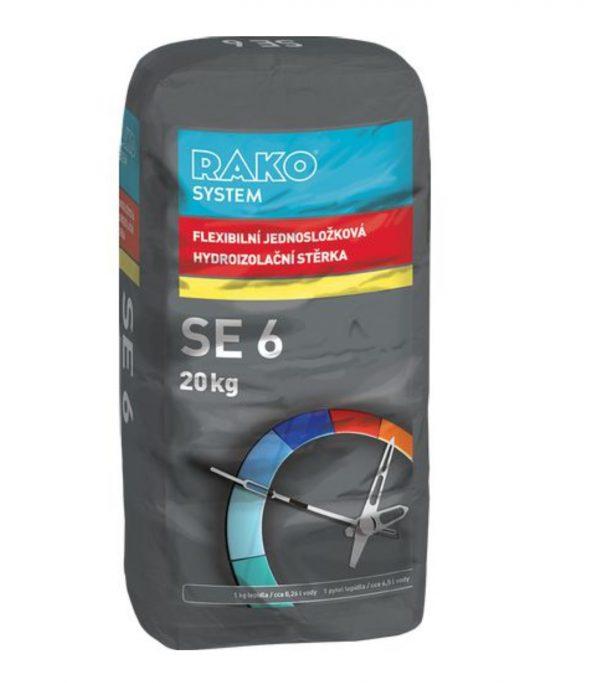 náhled RAKO SE6: jednosložková hydroizolační stěrka 20kg