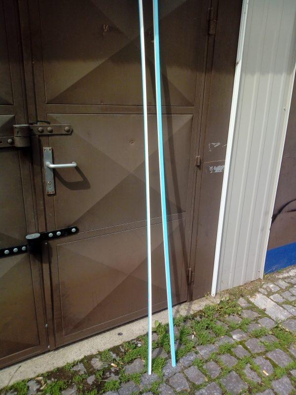 náhled Lišta hranatá vkládací 17 x 17, délka 2 m