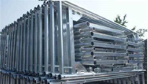 náhled Fasádní rámové lešení š.73 hliník/ocel