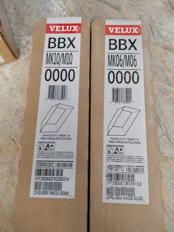 náhled Velux manžety z parotěsné fólie BBX MK06 a MK10