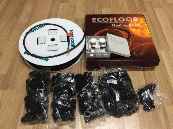 náhled Topný kabel Fenix s termostatem a istalační sadou v setu