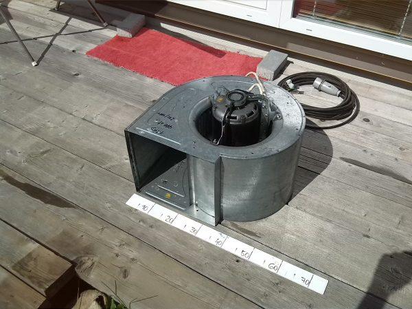 náhled Prodám radiální ventilátory 4 ks i jednotlivě