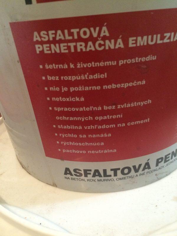 náhled Prodám asf. penetraci