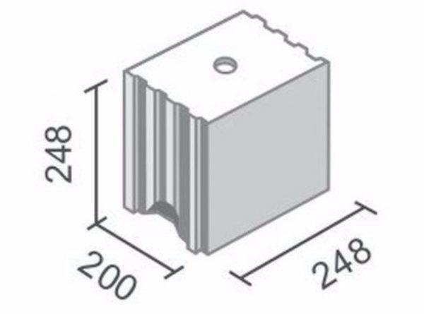 náhled Vápenopískové bloky tl. 200mm
